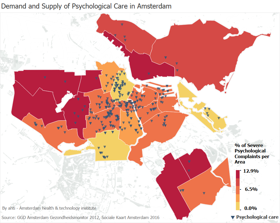 ahti Amsterdam mental health data analysis
