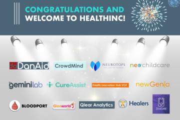 HealthInc 2021: nieuw cohort van 13 startups gestart!